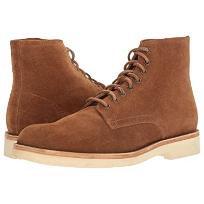 Frye Eric Lace-Up (Copper Oiled Suede) Men