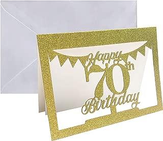 70th birthday card verses
