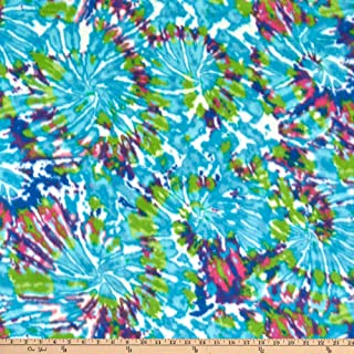 Newcastle Fabrics Polar Fleece Fireworks, Lagoon Yard
