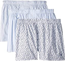 3-Packaged Woven Boxers