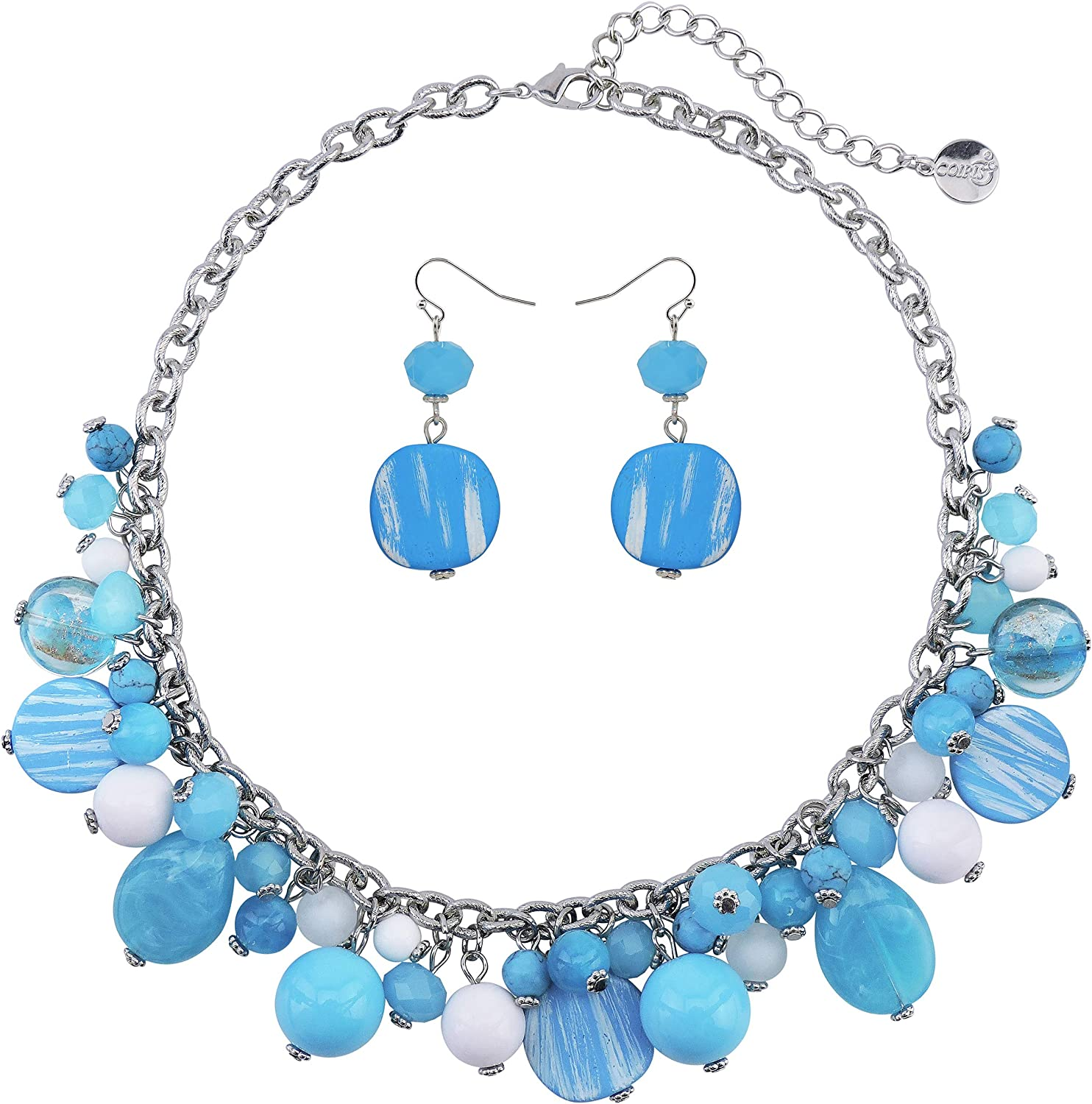 Coiris Women's Beaded Strand OFFicial mail order Statement 55% OFF Beads Necklace N0 Collar