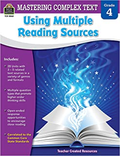 Mastering Complex Text Using Multiple Reading Sources Grd 4
