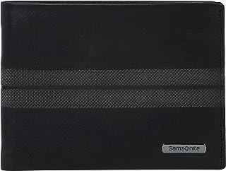 Samsonite 新秀麗 Spectrolite SLG - 翻折 4 張信用卡,2 個隔層信用卡包,12 厘米 黑色(黑色/夜藍色) 黑色(黑色/夜藍色)