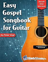 Easy Gospel Songbook for Guitar: Book with Online Audio Access (English Edition)