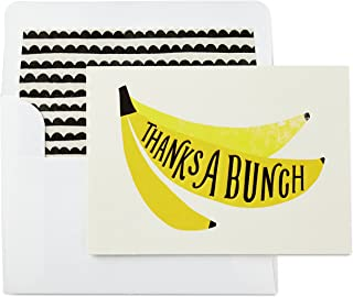 Hallmark Thank You Cards, Thanks a Bunch (10 Blank Cards with Envelopes | Professional, Baby Showers, Bridal Showers, Birthdays, All Occasion)