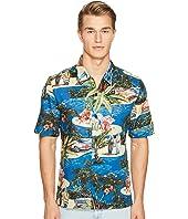 Just Cavalli - Island Print Short Sleeve Shirt