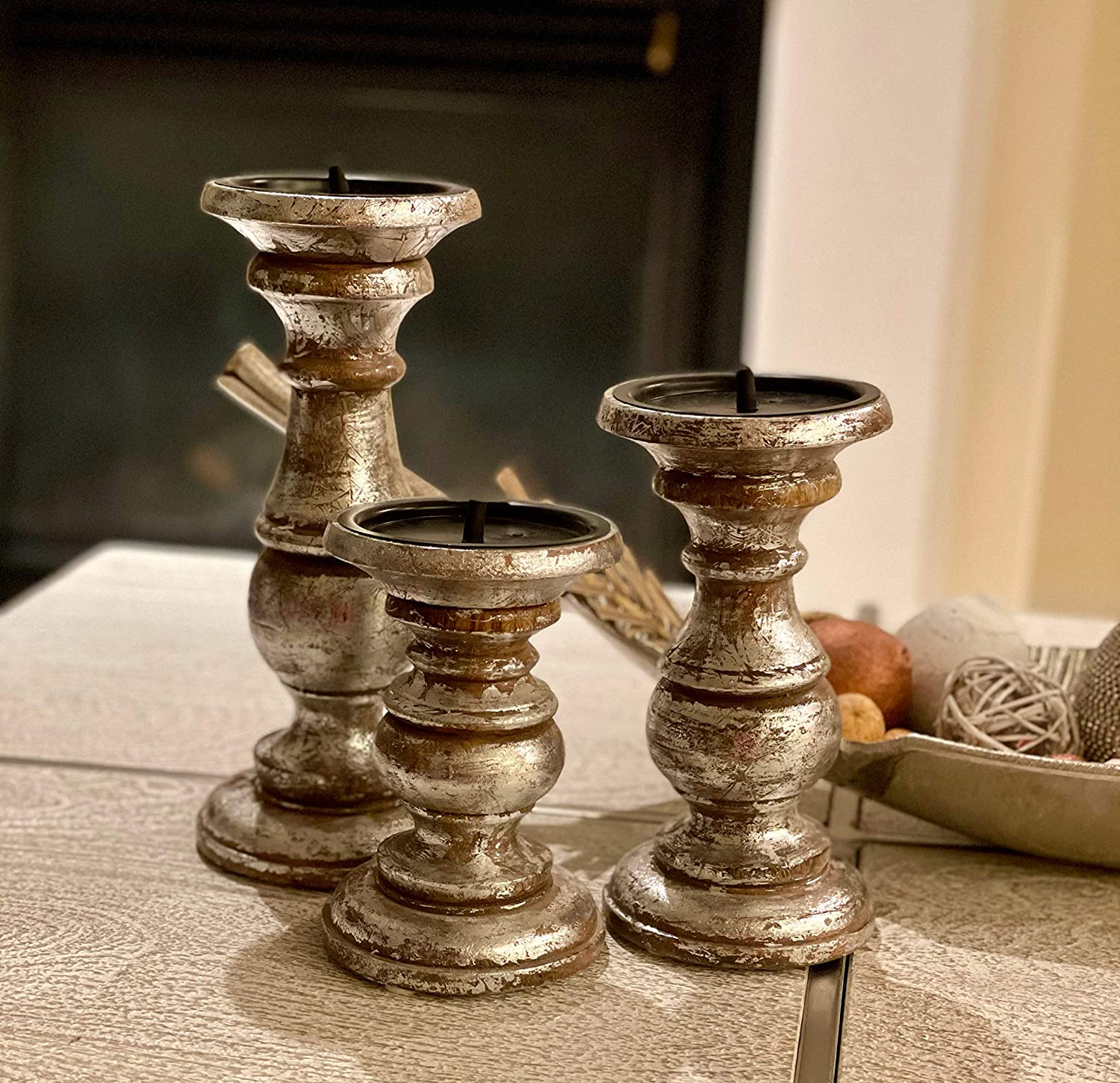 Wooden Candle Holder Stand Ca Holders Candlebars High quality Fashion Unity