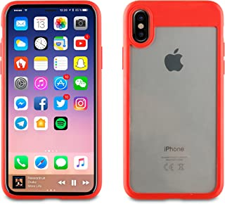 1381834b461 Muvit MUCRB0029 Funda Crystal Bump Roja Edición Especial Apple iPhone X