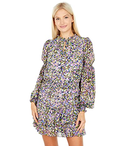 Ted Baker Karliie Tiered Mini Dress with Smock Detailing