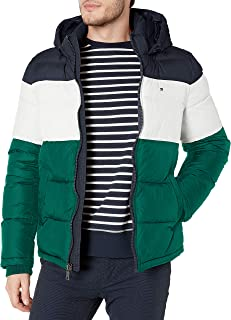 Tommy Hilfiger mens Hooded Puffer Jacket