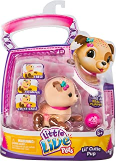 Little Live Pets S1 Cutie Pup Single Pack - Sprinky