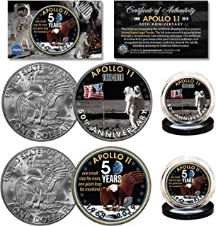 Best apollo 11 anniversary coin Reviews