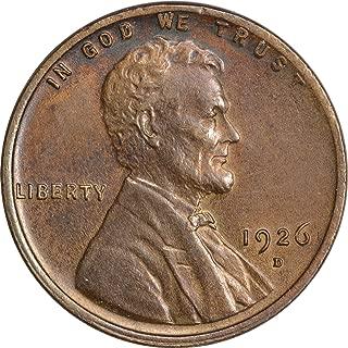 1926 penny error