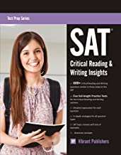 SAT Critical Reading and Writing Insights (Test Prep Series Book 1)