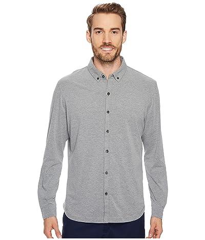 Linksoul LS208 Rambler Long-Sleeved Button Down Shirt (Dark Grey Heather) Men