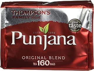 Punjana Original Blend Classic English 160 Tea Bags (Amazing Taste)