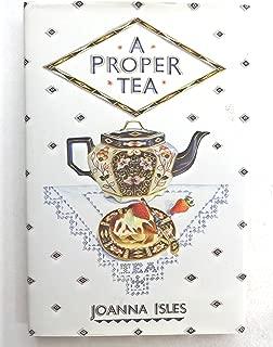 A Proper Tea: An English Collection of Recipes