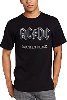 Men's AC/DC Back In Black Short-Sleeve T-Shirt