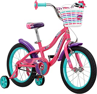 Schwinn Jasmine Girl's Bike with Training Wheels, 16