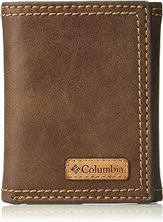 Men's RFID Blocking Leather Slim Trifold Wallet