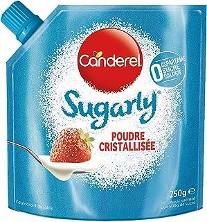 Canderel Sugarly Edulcorant Poudre Cristallisée àBase de Sucralose, 250g