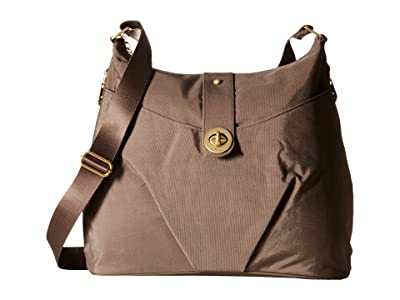 Baggallini International Gold Helsinki Bag (Portobello) Handbags