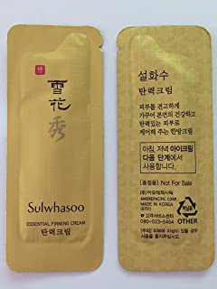 30X Sulwhasoo Essential Firming Cream 1ml. Super Saver Than Normal Size