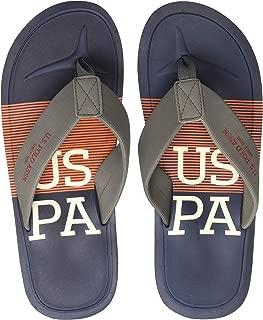 US Polo Association Men's Adolfito Flip Flops Thong Sandals