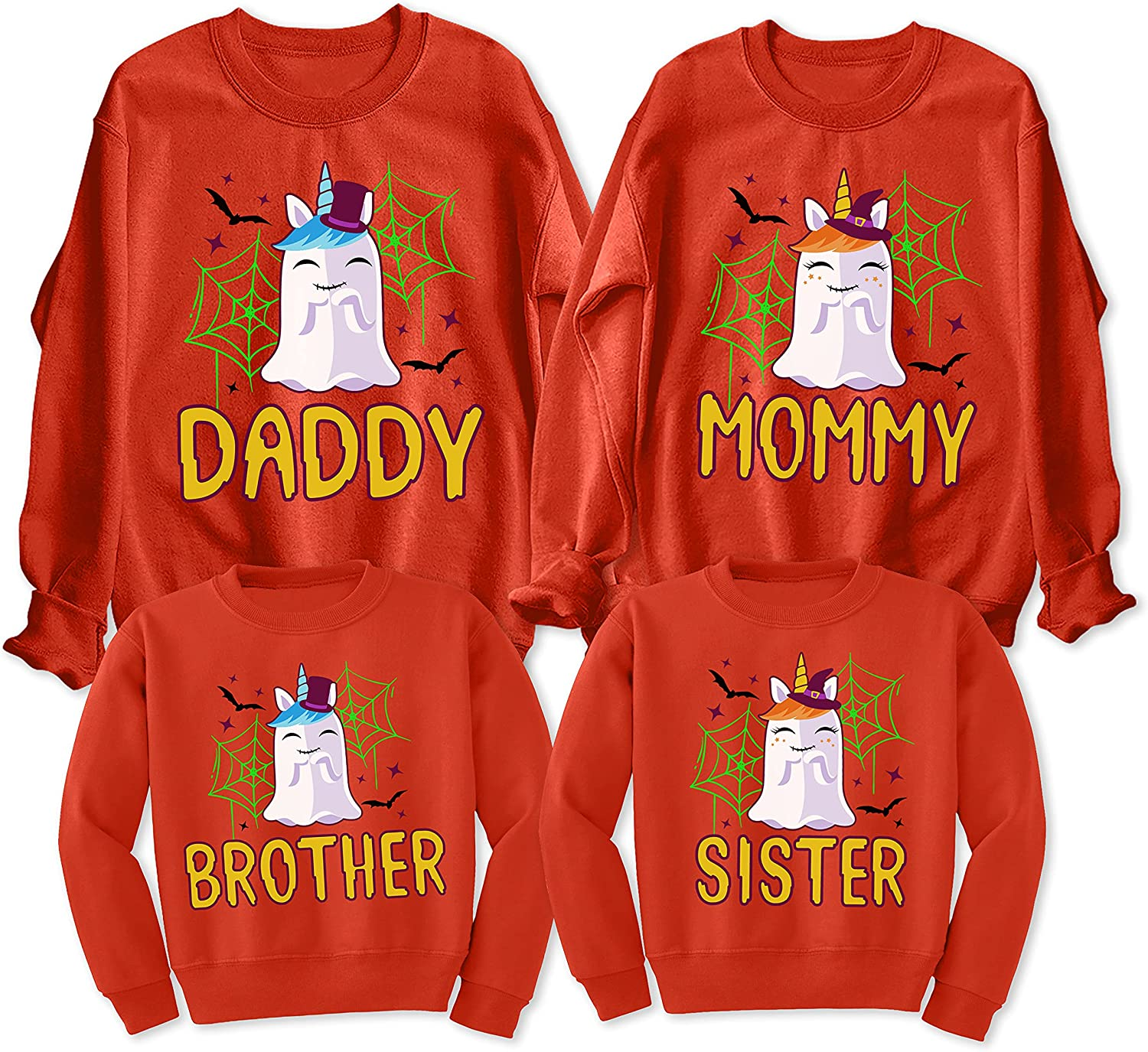 All items in the store Daddy Mommy Brother Sister Ghost Matching Family Sweat Halloween Los Angeles Mall