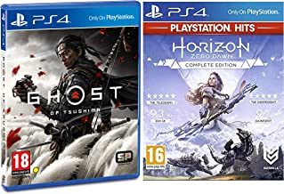 PS4 Ghost of Tsushima (PS4)&Horizon: Zero Dawn - Complete Edition (PS4)