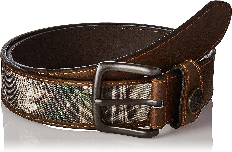 Realtree Men's Leather Comfort Casual Belt