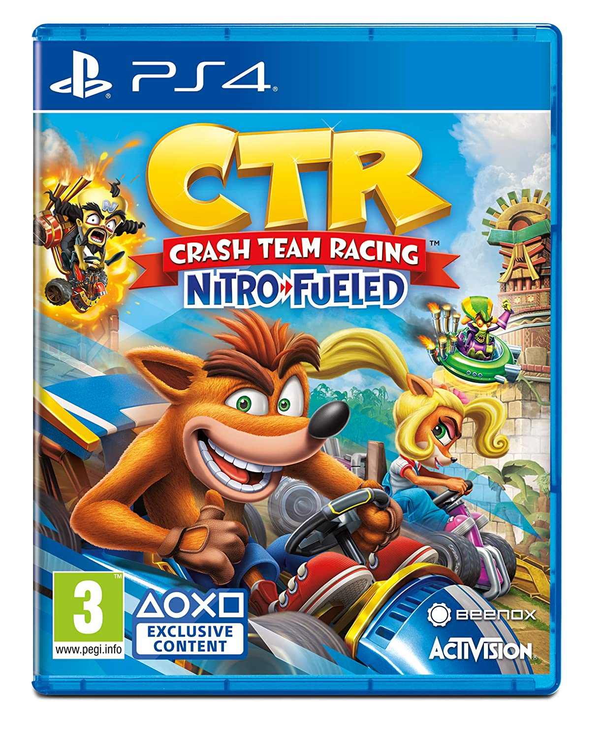 Amazon Com Crash Team Racing Nitro Fueled Ps4 Video Games