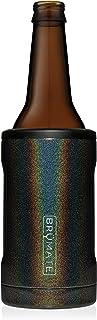 BrüMate Hopsulator BOTT'L Double-walled Stainless Steel Insulated Bottle Cooler for 12 Oz Bottles (Glitter Charcoal)