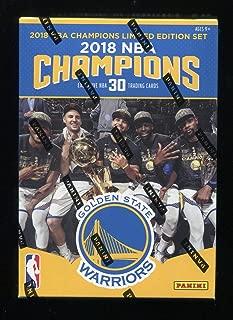 Golden State Warriors NBA CHAMPIONS 2017-18 Panini Basketball Trading Card Set (30) Finals MVP Highlights +More