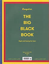 Esquire Magazine The Big Black Book Spring/Summer 2018 Uk Edition