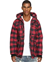 Mostly Heard Rarely Seen - Plaid Field Coat