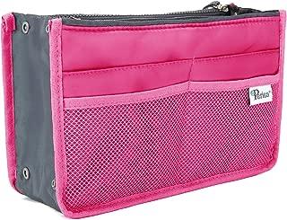 Periea Handbag Organiser - Chelsy - 28 Colours Available - Small, Medium Large (Medium, Bright Pink)