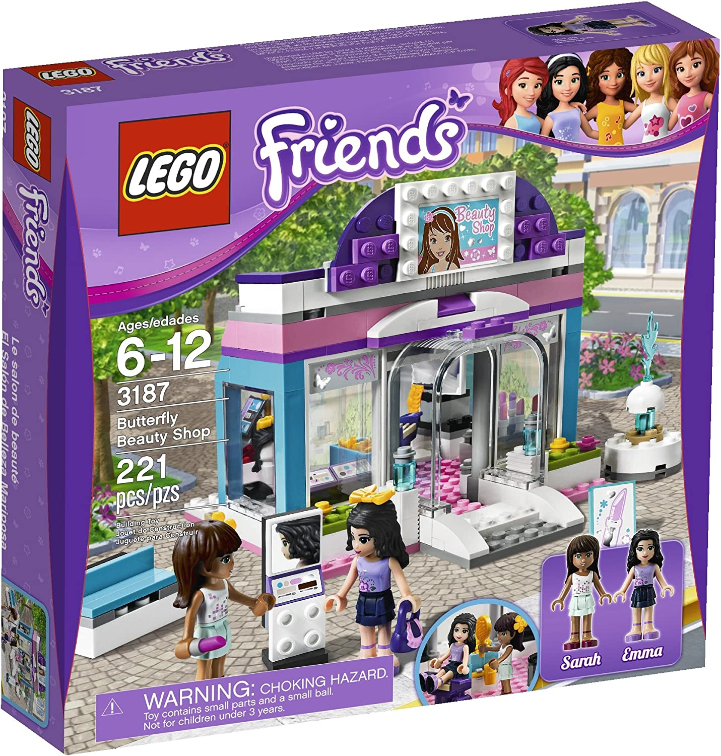 LEGO Friends Butterfly Beauty Shop 3187 by LEGO