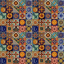 Color y Tradicion 100 Hand Painted Talavera Mexican Tiles 2