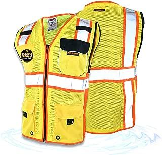 PETJAY Warning Triangle DOT Approved 3PK,Safety Reflective Vest Emergency Roadside Triangle
