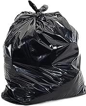 Plasticplace Black Garbage Bags,12-16 Gallon,24x31,1.2 Mil, 250/Case