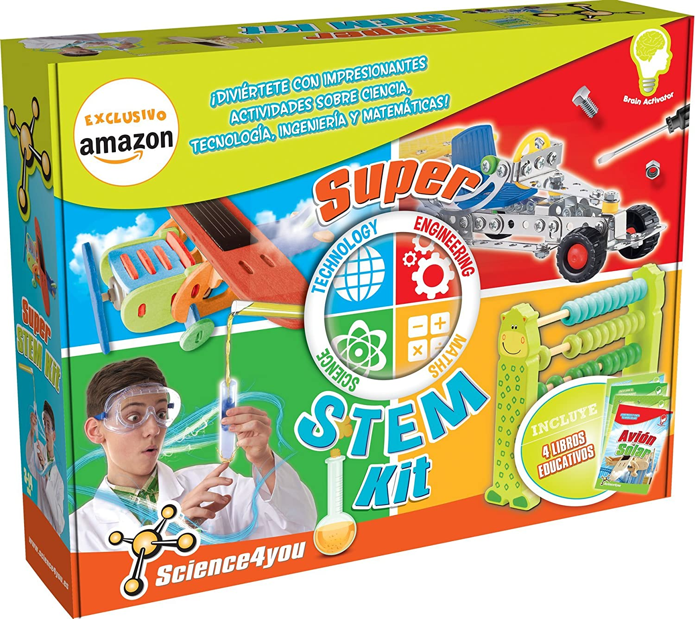Science4you Super Stem Kit, Spielzeug Bildung (607392) B074P4VTPM  | Großhandel