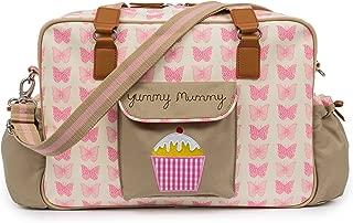 pink yummy mummy changing bag