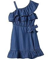 Ruffle Wrap Dress (Big Kids)