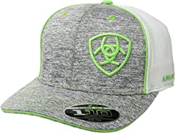 Embroidered Shield Flexfit Cap