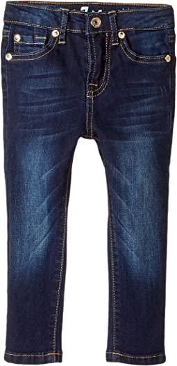 7 For All Mankind Kids - The Skinny Jean in Santiago Canyon (Toddler)