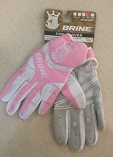 Brine Fire Warm Lacrosse Weather Mesh Gloves