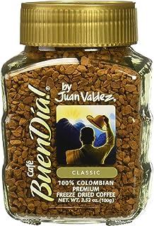 Coffee Buendia By Juan Valdez Classic 100% Colombian - Cafe Buen Día Colombiano 3.52 Oz