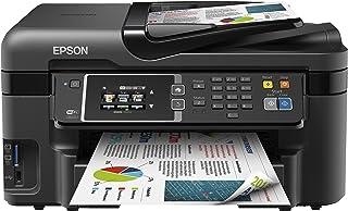 Epson Workforce WF-3620DWF - Impresora multifunción de Tinta (WiFi, Color 10 PPM, USB, Pantalla LCD), Color Negro