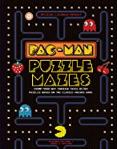 PAC-MAN Puzzle Mazes: Chomp your way through these retro puzzles based on the classic arcade game (Puzzle Books)